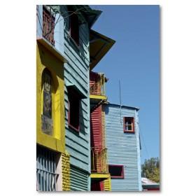 Αφίσα (Αργεντινή, ουρανός, κτίρια, ημέρα, χρώματα)